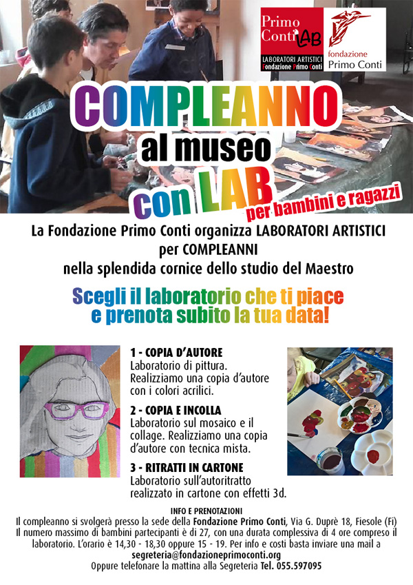 Compleanni al Museo LAB