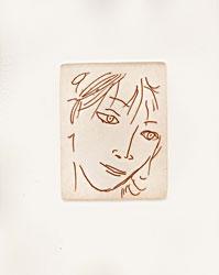 Volto di donna, 1988 - Litografia