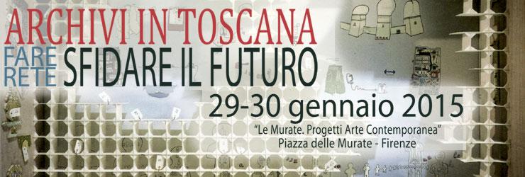 """Convegno. 29-30 gennaio 2015, """"Le Murate. Progetti Arte Contemporanea"""" Piazza delle Murate - Firenze"""
